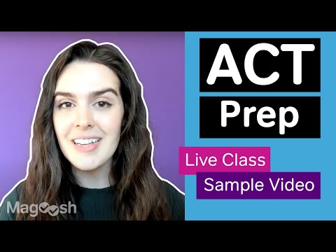 ACT prep with Live Classes from Magoosh (Links in description ...