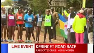 Nakuru county government sponsors Keringet road race that seeks to identify and nurture talents