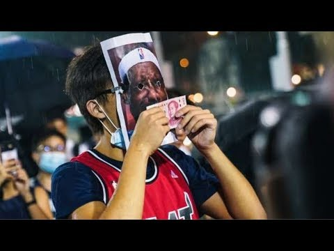 Hong Kong Protesters Are Burning LeBron James Jerseys after Non-Comment