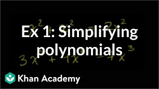Simply a polynomial