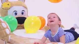 Видео: мягкая кровать игрушка для детей