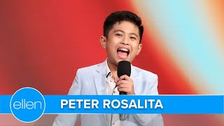 'AGT' Finalist Peter Rosalita Wows with 'Never Enough'