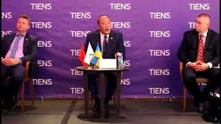 Прес-конференція голови Тяньши, яка відбулася 1 червня 2018 року.