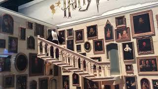 SDCC Harry Potter Mattel Diorama With Moving Staircase Comic-Con 2018 Wal-Mart