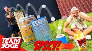 Spicy Ping Pong Trickshot Challenge!