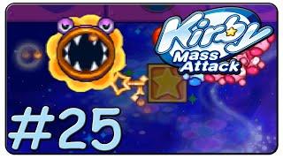 Kirby Mass Attack 100% Walkthrough Part 25 Volcano Valley Stage 11