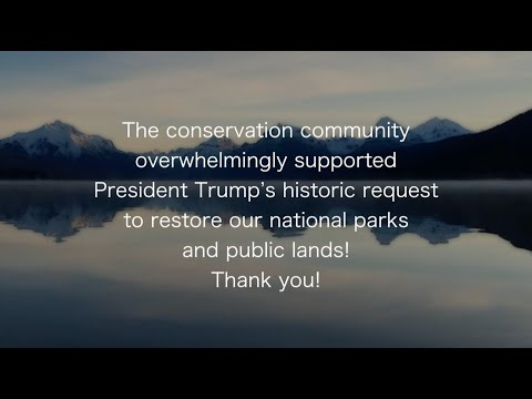 Great American Outdoors Act: Thank you to our partners!