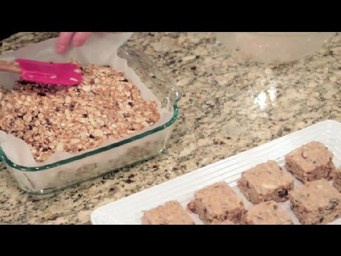 Video How to Make Healthy, Low-Sugar Breakfast Bars : Healthy Breakfast Recipes