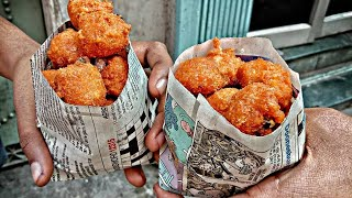 Ram Laddu Delhi Famous snacks Moong dal Ram Laddu Street Food Love - Indian