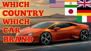 WHICH COUNTRY WHICH CAR BRANDS 🚘   ORIGIN OF CAR BRANDS 🚘🚘  minute