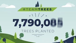 TeamTrees Realtime Progress: Live Tree Count & Donations