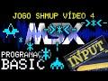 Msx Basic 08 Jogo Shmup V deo 4