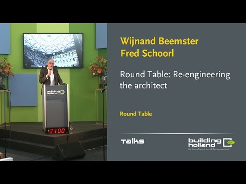 Re-engineering the architect - Fred Schoorl