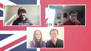 video: Watch: I left Hong Kong for the UK - but I'm still being followed