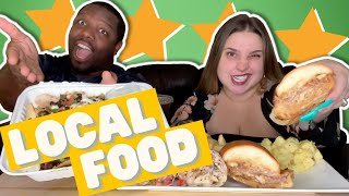 Mediterranean Restaurant In Our Area + Food Review [California is Burning...Again!]