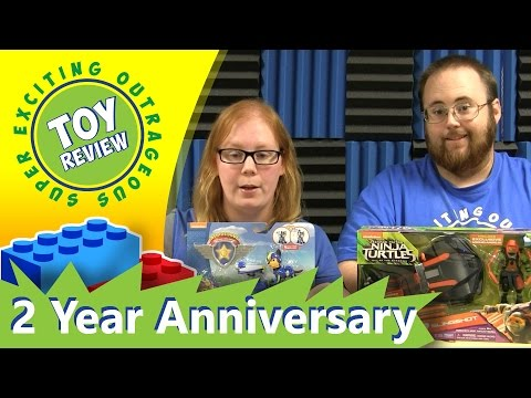 Two Year Anniversary Paw Patrol Air Rescue Chase and TMNT Polaris Slingshot - SEO Toy Review Special