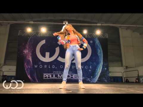 Garota arrebenta na Dança estilo Break