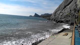 Судак, Сокол, пляж 11.10.2013