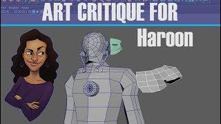 Art Critique for Haroon - Iron Man