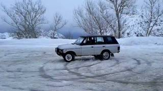 preview picture of video 'range rover classic drift Lebanon'