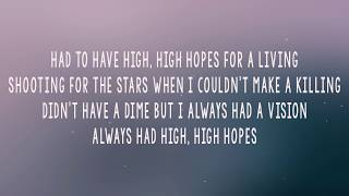 Panic At The Disco High Hopes (LyricsLyrics Video)