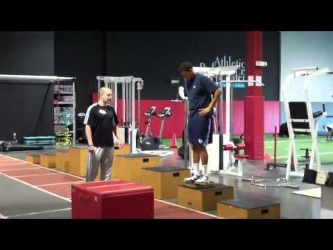 Exercise of the Month:   Single Leg Depth Jumps
