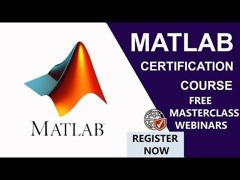 FREE Matlab Training Online | MATLAB WEBINAR | FREE ...
