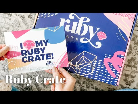 Ruby Crate Unboxing Summer 2021