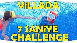 VİLLA 'daki HAVUZ 'da 7 SANİYE CHALLENGE | YAZ TATİLİMİZ 2019 | Fenomen Tv Yaz, Tatil, Havuz