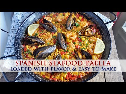 Authentic Spanish Seafood Paella Recipe – Colab With Best Bites Forever