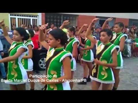 Participação da Banda Marcial Duque de Caxias em Alagoinha/PB - 2017