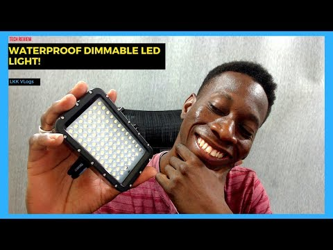 The Best Waterproof Dimmable LED Video Light | Suptig Underwater Lights Unboxing & Review