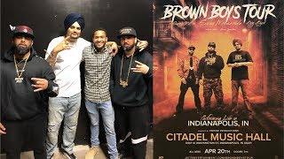 Brown Boys Concert VLOG | Sidhu Moose Wala | Sunny Malton | BYG BYRD | Amar Sandhu