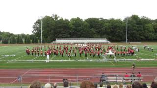 """Churchill Marching Band performs selections from """"Cars"""""""