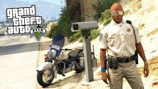 GTA 5 Игра за Полицейского #5 - ПАТРУЛЬ ШОССЕ!! (ГТА 5 МОДЫ LSPDFR)
