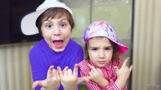 Дети ПРИДУМАЛИ как НЕ ПЛАТИТЬ за ЕДУ! Аминка МЕГА ЗВЕЗДА! Для детей kids children