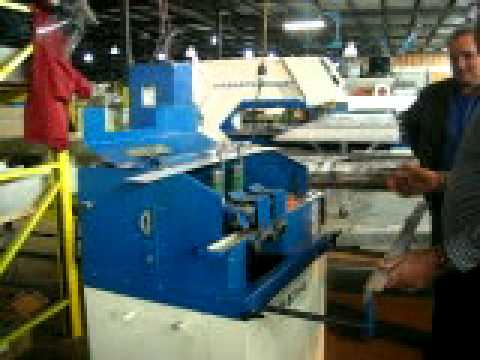 McKechnie International Deburring sheet metal edges