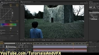 Put A Castle In Your Backyard - After Effects CS6 Tutorial - How To Do Simple Set Extension