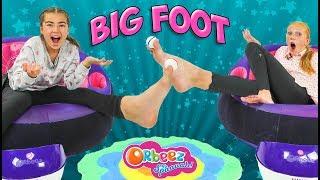 INSANE Orbeez Foot Pong Challenge   Official Orbeez