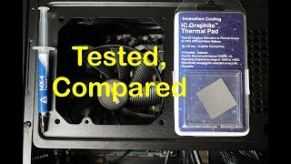 IC Graphite Thermal Pad Testing and Comparison