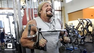 Biceps and Triceps Workout | Day 31 | Kris Gethin's 8-Week Hardcore Training Program by Bodybuilding.com
