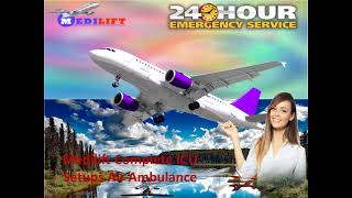 Relaxed Patient Transfer Air Ambulance Service in Delhi and Kolkata