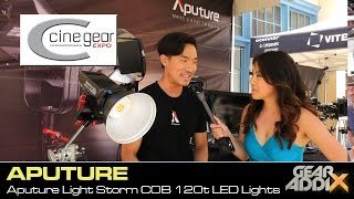 Aputure Light Storm COB 120t Studio LED Lights (Cine Gear Expo 2016)