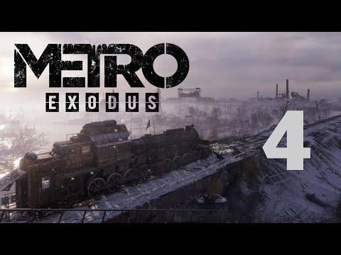 Метро Исход / Metro Exodus - Прохождение игры на русском - Зима (Слушаем и читаем дневник) [#4]   PC