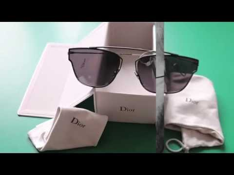 Dior 0204s Black Sunglasses Unboxing by Christian Dior