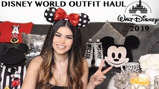 DISNEY OUTFITS CLOTHING HAUL | WHAT TO WEAR TO DISNEY | OOTD