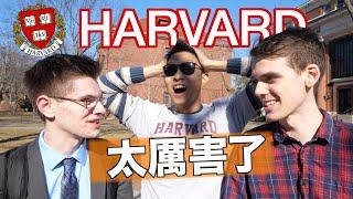 聰明嗎??挑戰美國哈佛學生回答這5條問題..(答對派錢!!). | Harvard Students Answer Questions To Win CASH!!
