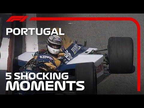 F1 ポルトガルGP 過去のポルトガルGPのショッキングな場面を集めた動画