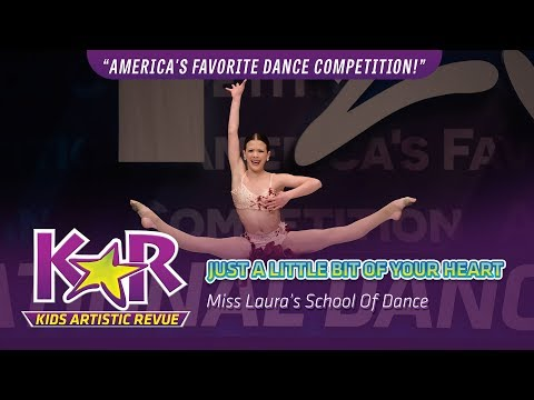 """Just A Little Bit OF Your Heart"" from Miss Laura's School Of Dance"