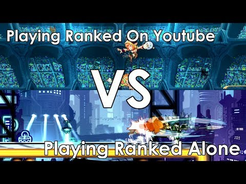 Playing Ranked on Youtube VS Playing Ranked Alone